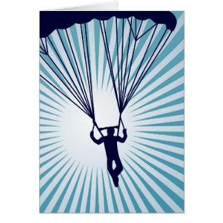 Cartes parachutiste extrèmement haut