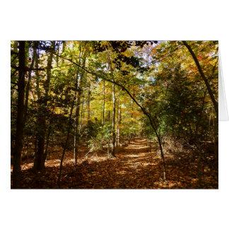 Cartes Parc de Greenbelt dans la scène de nature de