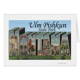 Cartes Parc d'état d'Ulm Pishkun, Montana