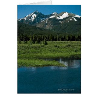 Cartes Parc national de montagne rocheuse, le Colorado