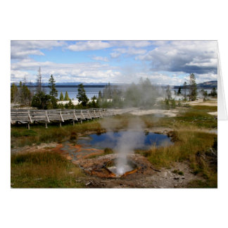 Cartes Parc national de Yellowstone