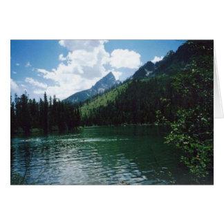 Cartes Parc national grand de Teton de lac string
