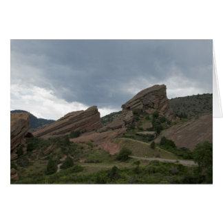 Cartes Parc rouge le Colorado de roches