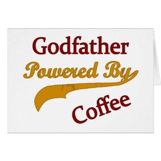 Cartes Parrain actionné par le café