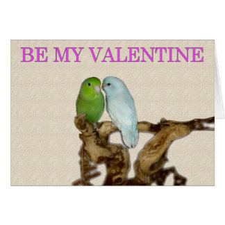 Cartes Parrotlet Valentine