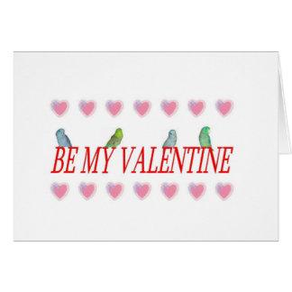 Cartes Parrotlets de Valentine