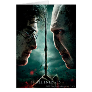 Cartes Partie de Harry Potter 7 - Harry contre Voldemort
