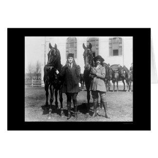 Cartes Partons l'équitation 1921