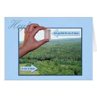 Cartes Partons recherchent un micro dans les bois !