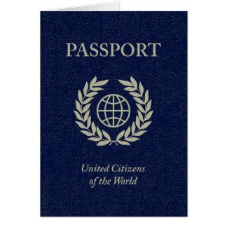 Cartes passeport de marine