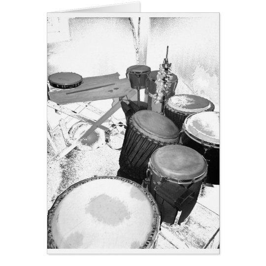 Cartes passion percussion