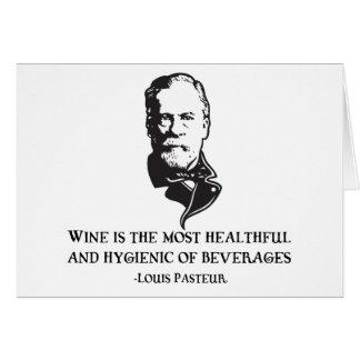 Cartes Pasteur - vin