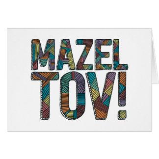 Cartes Patchwork de Mazel Tov multi