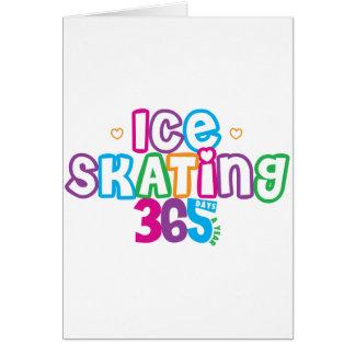 Cartes Patinage de glace 365