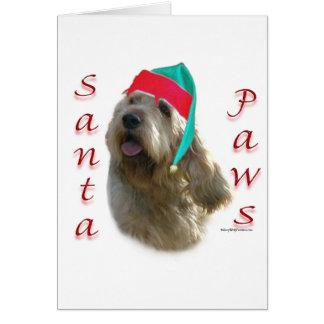 Cartes Pattes de Père Noël d'Otterhound