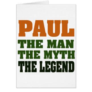 Cartes PAUL - l'homme, le mythe, la légende