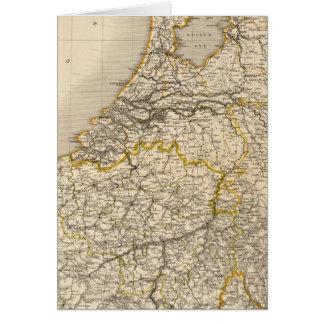 Cartes Pays-Bas et la Belgique 2
