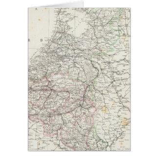 Cartes Pays-Bas et la Belgique 4