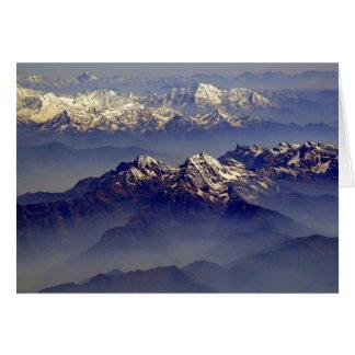 Cartes Paysage de l'Himalaya
