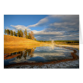 Cartes Paysage de Yellowstone