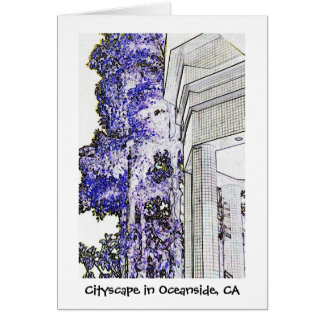 Cartes Paysage urbain dans l'Oceanside, CA