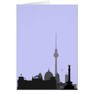 Cartes Paysage urbain de Berlin