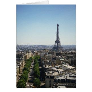 Cartes Paysage urbain de Paris, France