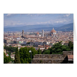 Cartes Paysage urbain Florence Italie