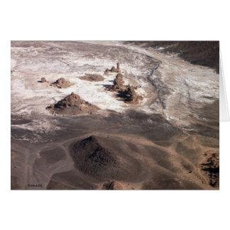 Cartes Paysage volcanique et sel