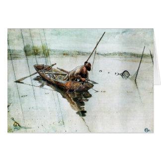 Cartes Pêche avec les filets 1905