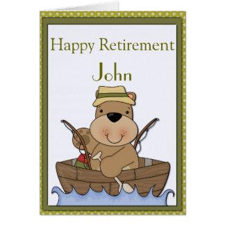 Cartes Pêche de la retraite d'ours