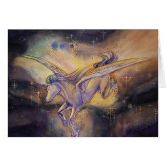 Cartes Pegasus avec la nébuleuse