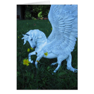 Cartes Pegasus blanc