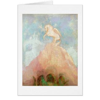 Cartes Pegasus blanc, c.1908 (huile sur la toile)