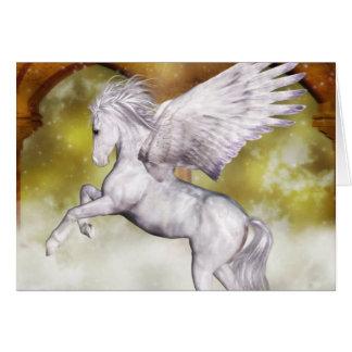 Cartes Pegasus élégant