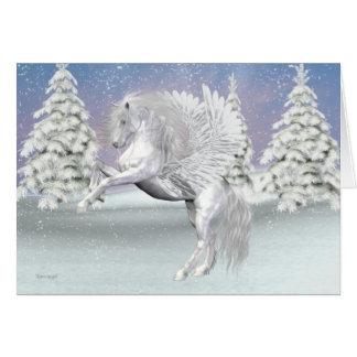 Cartes Pegasus. Le cheval à ailes