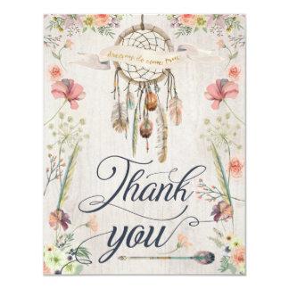 Cartes peintes florales de Merci de Boho de