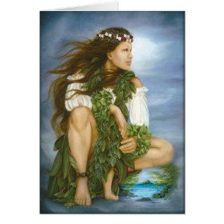 """Cartes Peinture à l'huile """"de No'ono'o de ka"""" par Lori"""