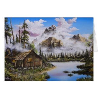Cartes Peinture à l'huile de solitude d'été par David