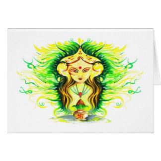 Cartes Peinture abstraite faite main de Lakshmi Durga