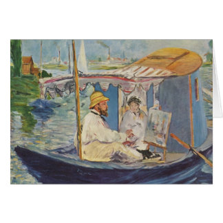 Cartes Peinture de Claude Monet - Edouard Manet