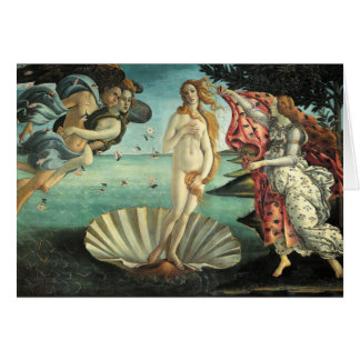 Cartes Peinture de la Renaissance de Botticelli