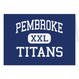 Cartes Pembroke - titans - haut - Pembroke le