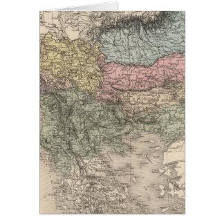 Cartes Péninsule balkanique