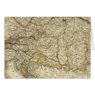 Cartes Péninsule balkanique centrale Autriche Hongrie