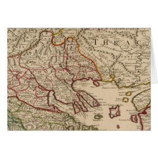 Cartes Péninsule balkanique, Grèce, Macédoine 3