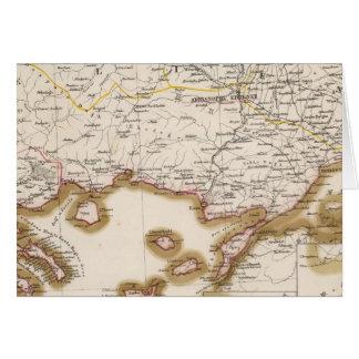 Cartes Péninsule balkanique, Turquie, Bulgarie