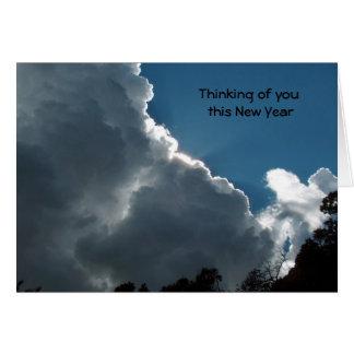 Cartes Pensée à vous cette nouvelle année