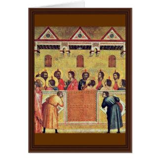 Cartes Pentecost par Giotto Di Bondone