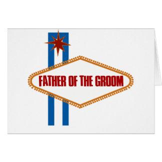 Cartes Père de Las Vegas du marié